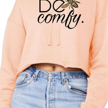 Be Comfy Cropped Sweatshirt