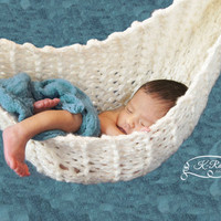 Baby Hammock, Newborn Photography Prop, Newborn Cocoon Wrap, Custom Made