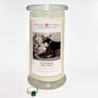 Not All Heroes Wear Capes - Jewelry Greeting Candles