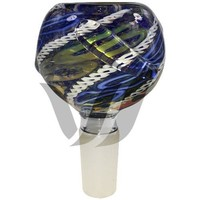 Glass Bowl 14MM Male Adapter - River