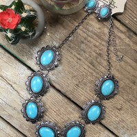 Turquoise heaven short necklace