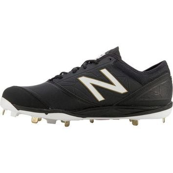 CREYONV new balance minimus metal cleats low cut black