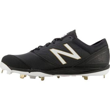 MDIGONV new balance minimus metal cleats low cut black