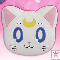 Sailor Moon Large Round Die-Cut Artemis Face Cushion