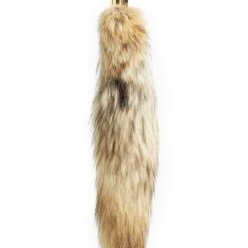 Michael Kors Genuine Coyote Fur Bag Charm | Nordstrom
