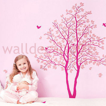 Baby Nursery Wall Decal Wall sticker Tree Decals by walldecals001
