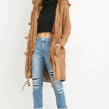 Faux Fur-Lined Parka