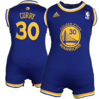 Stephen Curry Golden State Warriors adidas Infant Road Replica Jersey Romper - Royal Blue - http://www.shareasale.com/m-pr.cfm?merchantID=7124&userID=1042934&productID=526697537 / Golden State Warriors