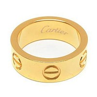 Cartier Woman Fashion Plated Ring For Best Gift