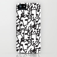 music iPhone & iPod Case by Mondebettina