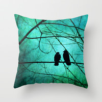 Smitten Throw Pillow by RDelean