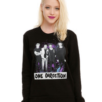 One Direction Splatter Girls Pullover Top