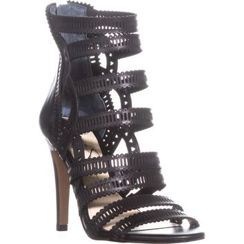 Jessica Simpson Elisbette Gladiator Sandals, Black, 6 US / 36 EU