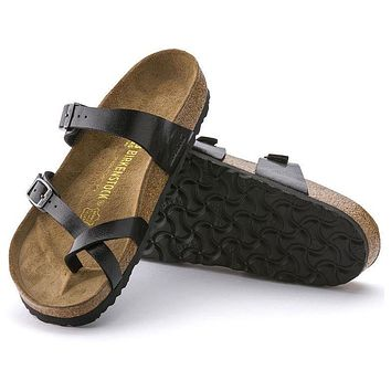 Best Online Sale Birkenstock Mayari Birko Flor Graceful Licorice 171391 Sandals
