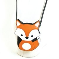 Sleepyville Critters Baby Fox Crossbody Bag (Black)