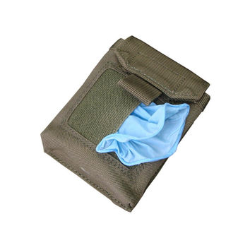 EMT Glove Pouch Color- OD Green