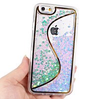 Sequins Quicksand Iphone 6 6s plus Case Cover