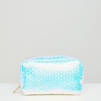 New Look Holographic Makeup Bag at asos.com