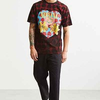Nirvana Heart-Shaped Box All Over Tee - Urban Outfitters
