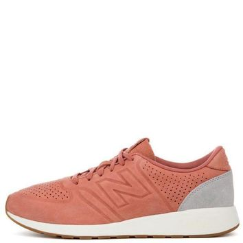 CREYON new balance 420 deconstructed salmon with grey men s sneaker