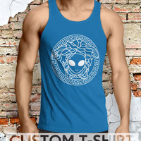 Versace Alien Men Tanktop - Lzi Tanktop For Men  / Custom - Tanktop / Men Tanktop