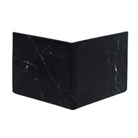 The Black Marble Bifold Wallet