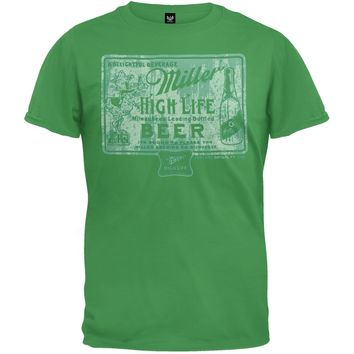 Miller High Life - Vintage Coaster Soft T-Shirt