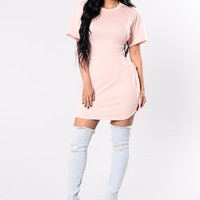 Painkiller Tunic - Dusty Pink