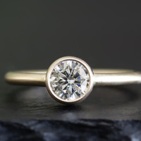 .80ct moissanite ring