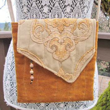 Boho Cross Body Bag - Golden