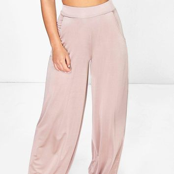 Petite Maeve Pocket Side Wide Leg Trouser