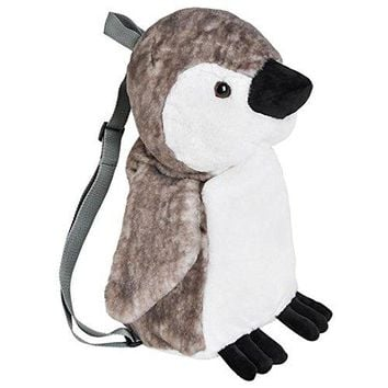 Wildlife Tree Kids 20 Inch Baby Penguin Animal Backpack - Soft Stuffed Animal Small Plush Backpack