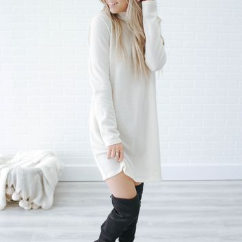 Sweet Embrace Sweater Dress