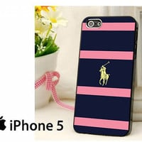 Polo Ralph Lauren Navy Blue Stripe Hard Case for iPhone 4,iPhone 4s,iPhone 5,iPhone 5s,iPhone 5c,Samsung Galaxy s2 / s3 / s4