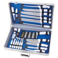 Slitzer 22pc Professional Cutlery Set In Case