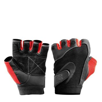 Better Bodies Pro Lifting Gloves red