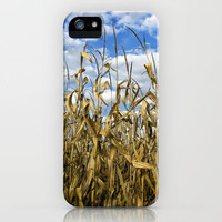 ► Indiana Corn ◄ iPhone Case by StormyArts (PhotoArt by Gale Storm) | Society6