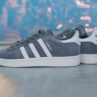17FW ADIDAS Originals CAMPUS Lux Vintage ¡°Grey Three White¡± BZ0085