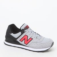 New Balance 574 Sweatshirt Shoes - Mens Shoes - Grey