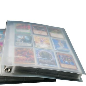 315 pockets 630 Cards Capacity Cards Holder Binders Albums For  CCG MTG Magic Yugioh Board Game Cards book Sleeve HolderKawaii Pokemon go  AT_89_9
