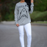 Shark Bait Sweater