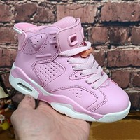 Nike Air Jordan Girls Boys Children Baby Toddler Kids Child Fashion Casual Sneakers Sport Shoes