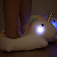 Unicorn Light Up Slippers Pre-order