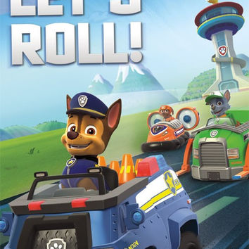 Paw Patrol - Let's Roll Wall Poster 22x34 RP14140 UPC882663041404