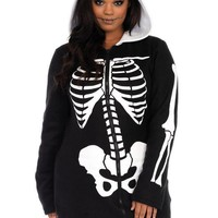 DCCKLP2 Cozy Skeleton,features zipper