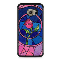 Beauty And The Beast Flower Samsung Galaxy S6 Edge case