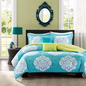 Intelligent Design Liliana 4-piece Comforter Set