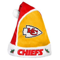 Kansas City Chiefs 2015 Basic Santa Hat