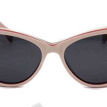 Women Cat Eye Sunglasses Handmade Acetate Polarized Sun Glasses