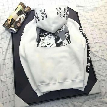 Supreme fashion comics sweater F-A-XYCL